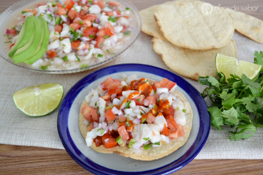 Mexican fish ceviche www.thebestmexicanrecipes.com